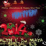 DJ ALyn & DJ Maya - Merry Christmas And Happy New Year (2-1 Special B2B)