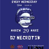 DJs Necrotik + Belzebuth @ Club Drone - 2017-03-29 - 3hr set