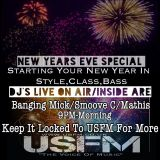 Smoove C Live - Tech House - New Years Eve Party 2016 On Universal Sounds FM