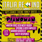 Pianoman, Italia Rewind, Easter Bank Holiday 2016, Promo Mix, Mixed By Pianoman
