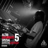 """DJ OGAWA@ Alzar Saturdays Special """"5""""29-07-2017"""