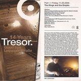 Dave Tarrida / Landstrumm & Youngman (Live PA) / Kriek @ 14 Yrs Tresor - Tresor Berlin - 11.03.2005