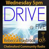 Wednesday Drive at Five - @CCRDrive - Rebecca Braybrook, Sean Trigwell - 26/08/15 - ChelmsfordCR