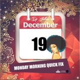 Jukess Advent Calendar - 19th December: Monday Morning Quick Fix