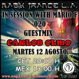 In Session With Mario F EP 020 Guestmix Carlos Olmo