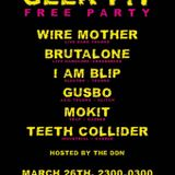 Brutalone - Geek Pit Free Party 26.03.16