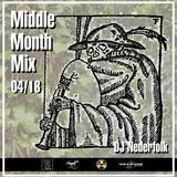 Radio & Podcast : DJ Nederfolk : Middle Month Mix 04-2018
