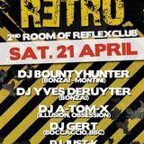dj A-Tom-X @ Reflex Club - retro 21-04-2012