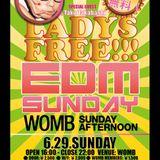 EDM SUNDAY@WOMB (Special Guest DJ : ☆Taku Takahashi)