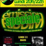 Emission RIDDIM 31 mars 2014 avec Alexandre Grondeau