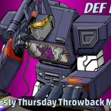 Thirsty Thursday The Throwback - 8/13/15 Mixlr Broadcast