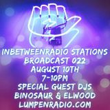 #22 Elwood & Binosaur 2016-08-10 Inbetweenradio/Stations