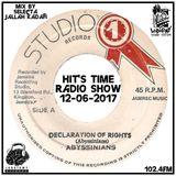 "Lobotomy Sound & Selecta Jallah Kadafi""Special Declaration Of Rights Riddim 1969-2002 "" 12-06-2017 ."