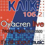 Oyacren live | Klik FM 106.2 (www.klikfm.net) | 5-Apr-13 | Part 1