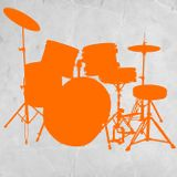 100% DRUM ORANGE mixvinyls 2013