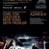 Seth Troxler (Crosstown Rebels) @ IMS Grand Finale Festival 2012, Dalt Vila -Ibiza (25.05.2012)