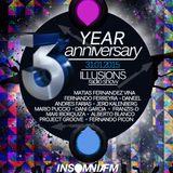 Fernando Ferreyra - Illusions 3rd Anniversary (Insomniafm), 31st January 2015