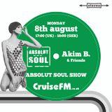 Absolut Soul Show /// 8.08.2016 on cruiseFM