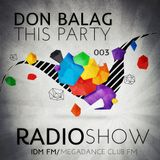 Don Balag - This Party 003