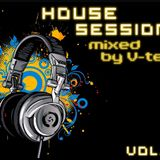 House Session vol.9  [mixed by V-tek]