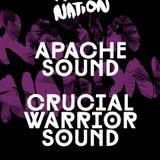 Crucial Warrior Sound @ Rasta Nation #38 (Aug 2013) part 2/8