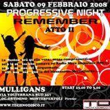 Dario Palline @ Progressive Night Remember (Mulligans) 2008-02-09