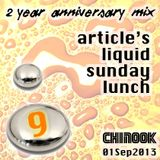 Article's Liquid Sunday Lunch [2-Yr Anniversary] - Chinook 01/09/13
