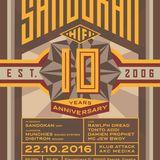 10 years Sandokan Hifi ls. Munchies & Digitron @ AKC Medika (Zagreb) Oct 22nd 2016 - PART 2