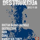Doctah Evil Jahngle @ Destrukcija 48 Cechas 2012 11 09