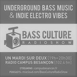 Bassculture # 17-10-2017 - Drum n Bass - Bass Music - Expérimental - Grime - Dubwise .....