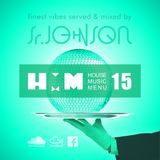 House Music Menu #15 - Senior Johnson