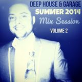 DJ ASMATIC - Deep House & Garage SUMMER 2014 Mix Session - Volume 2 (18/08/2014)