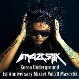 Korea Underground 1st Anniversary Mixset DJ Mazestik