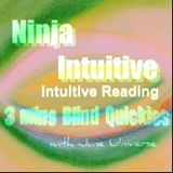 3 Mins Intuitive Blind Reading Quickies 2082016