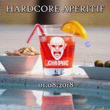 The Chronic @ Hardcore Aperitif (200 BPM) 01-08-2018
