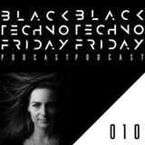 Black TECHNO Friday Podcast #010 By Anja Augner (Cubeplus/Magdeburg)