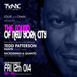 LXXI TSoNYC danyb live@ The303 NYC Sept 2014 warm up for Tedd Patterson