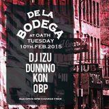 DJ IZU  DE LA BODEGA at OATH 10th.Feb.2015