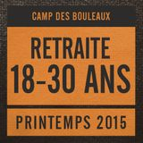 18-30 ans - Printemps 2015 - Session 2 de 3