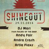 Artie Flexs - Shineout Flashback Mix at Cita Puse (Live Reconstruction) (29.11.14)