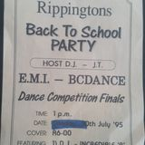 RIPPINGTONS NIGHT CLUB 27TH NOV 1993 (DJ'S:KDKOOL,JT & CHUNKY B).
