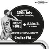 Absolut Soul Show /// 25.07.2016 on cruiseFM