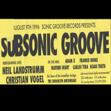 """Christian Vogel LIVE at """"Subsonic Groove"""" @ The Brooklyn Anchorage (New York - USA) - 9 August 1996"""