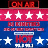 HOT 95.5FM 4TH OF JULY BOOTY MIX
