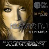 Deep Enigma 21 by IsaVis DJ, Ibiza Live Radio, Nov. 2nd 2018