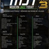 Modern Jazz Today - Episode #164 - The Week of March 25, 2019