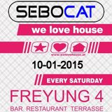 Sebocat - live @ we love house - Freyung 4 // 10-01-2015