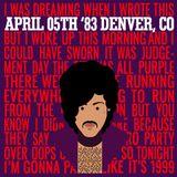 05 APR 1983 Denver, CO, USA – Convention Center Auditorium Arena Soundboard