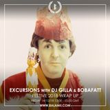 Excursions #65 • Best of 2018 with DJ Gilla & BobaFatt • Recorded live on Balamii • December 2018