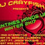 Dj.Crayfish - Valentines hands up mix (winter 2k17)